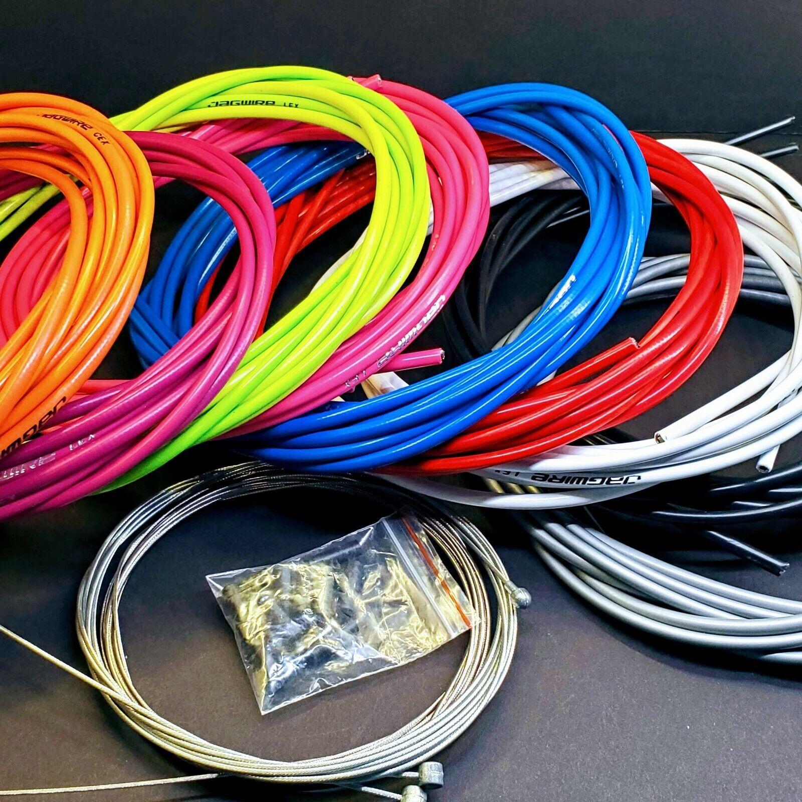 MTB Bike Derailleur Kits Brake//Shift Mountain Cable Wire Tube Line Housing Set