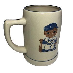 Vintage-Sandy-Koufax-32-Los-Angeles-Dodgers-6-Mug-Original-Made-In-Japan-60-s