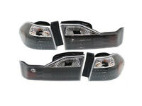 Performance Honda Accord 4dr Sedan 98 99 00 Led Black Inner Outer Tail Light Set on sale