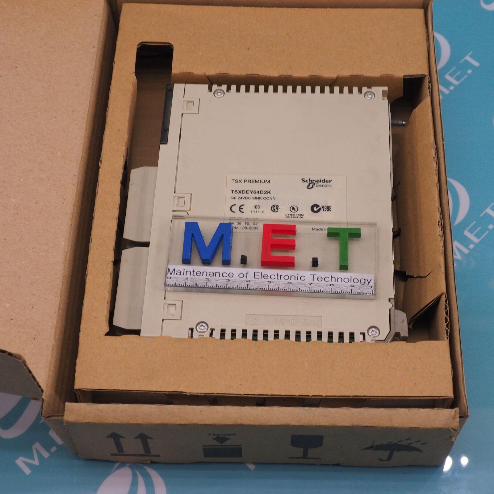 USED Schneider TSXDEY64D2K Premium Sink Connection Input Module PV:06 RL:02