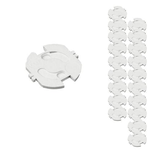 20 Stück  Steckdosensicherung weiß H+H KS 10