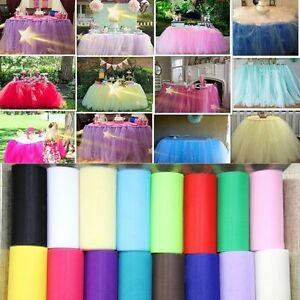 Wrap-Fabric-Tutu-Party-Decoration-Craft-Gift-Wedding-Tulle-Roll-Spool