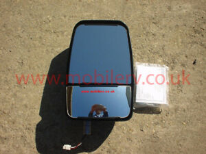 American Motorhome Rv Velvac Mirror Head Black Passenger