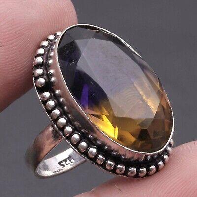 Ametrine, 925 Solid Sterling Silver Gemstone Ring Us 8 , USA2589    eBay