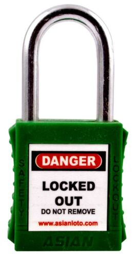 OSHA Safety Lock Out Padlocks LOTO GREEN