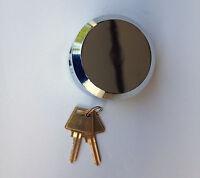 Puck Lock - Keyed Alike -2 7/8 Dia. 1 1/2  Thick - 6 Pin Tumbler