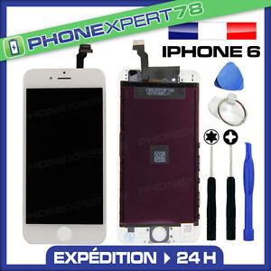VITRE-TACTILE-ECRAN-LCD-RETINA-SUR-CHASSIS-POUR-IPHONE-6-BLANC-OUTILS