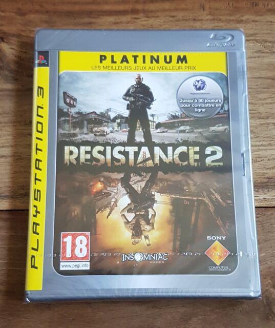 RESISTANCE 2 PLATINUM Jeu Sur Sony PS3 Playstation 3 Neuf Sous Blister VF