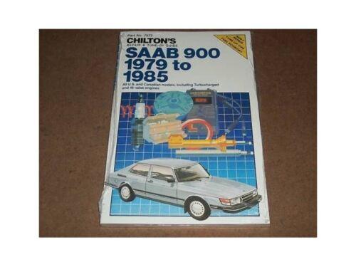 1979-1985 SAAB 900 Chilton Repair Service Manual