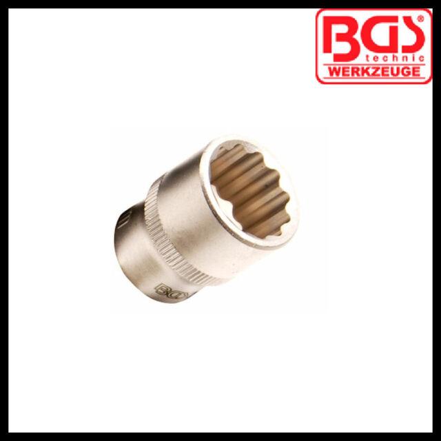 "BGS - 1/4"" Drive - 14 mm Shallow, 12 Point Socket - Pro Range - 2269-14"