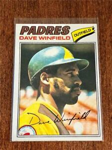 1977-Topps-Baseball-BASE-CARD-Dave-Winfield-SAN-DIEGO-PADRES