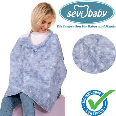 Baumwollschal Baby Stillschürze Bezug Stillen nach Geburt Stilltuch Stillmode DE