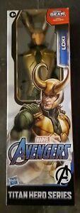"Avengers Marvel Titan Hero Series Blast Gear Loki 12"" Action Figure New Kid Toy"