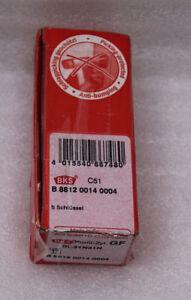 BKS-Zylinder-PZ8812-8802-mit-5-Schlusseln-BL31N31N-NEU