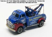 N Scale: 1950's Gmc coe Heavy-duty Wrecker - Showcase Miniatures 80
