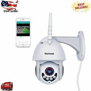 WIFI CCTV IP Camara De Seguridad Vigilancia Inalámbrica para Interior y Exterior