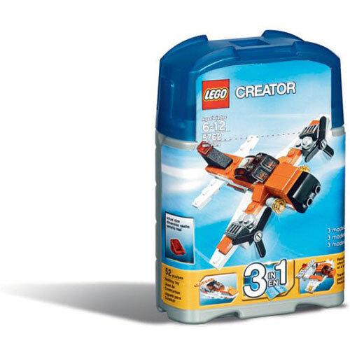 LEGO Creator MINI Flugzeug (5762) 3 in 1 NEU