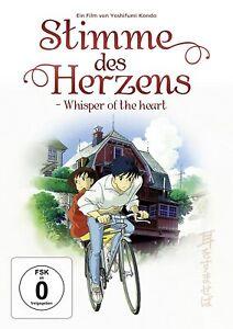 Voce del cuore-Whisper of the Heart [DVD/Nuovo/Scatola Originale] anime di Hayao miyazak