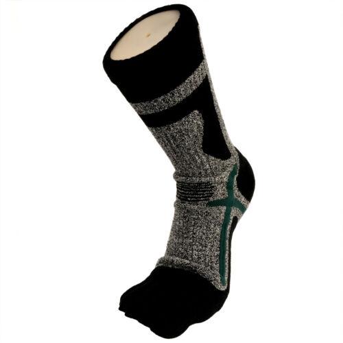 Men/'s Thermal Winter Sports Warm Heat Thick Crew Cushioned Five Finger Toe Socks