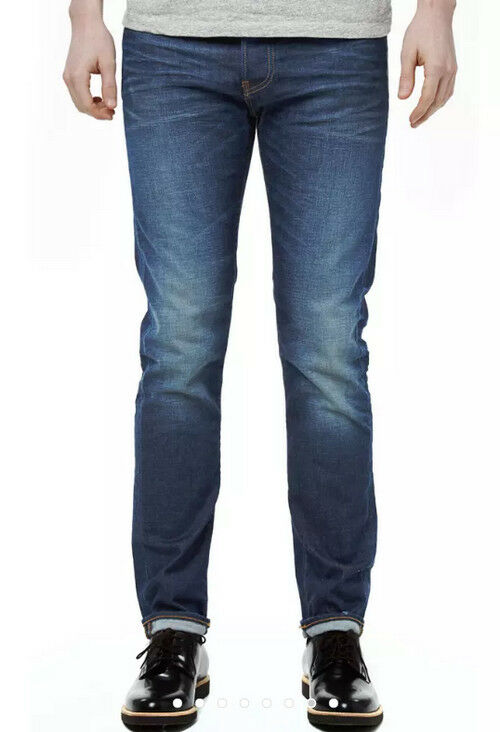 JEANS EDWIN MAN ED 80 SLIM (cs compact - bluee sonic wash) W32 L34 VAL
