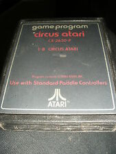 cartouche jeu ATARI 2600 Left CARTRIDGE game CIRCUS CBS colecovision