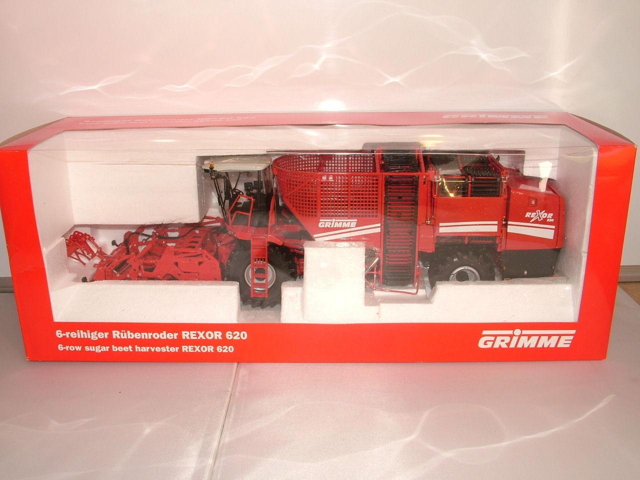 ROS No 60133 Grimme Rexor 620 Sugar beet Harvester New 1 32