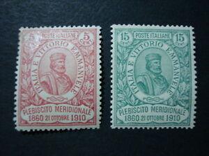 ITALIA-REGNO-1910-FRANCOBOLLI-NUOVI-MLH-N-89-90-BUONA-CETRATURA-VAL-CAT-600-00