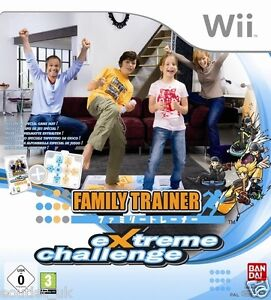 Family Trainer Extreme Challenge Game For Nintendo Wii New