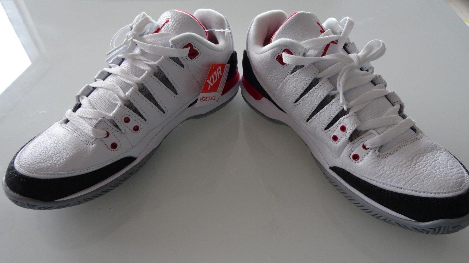 01dc4db0b564ee ... New Size 8 Roger Roger Roger Federer Nike Air Jordan Zoom Vapor AJ3 RF  Fire Red ...