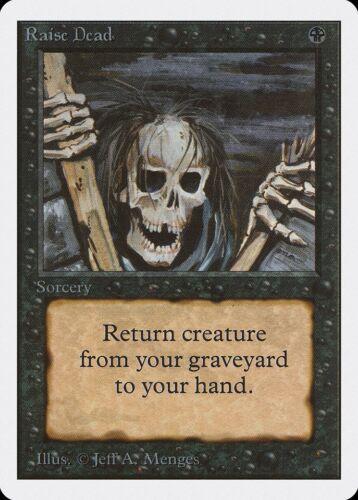 Raise Dead Unlimited NM-M Black Common MAGIC THE GATHERING MTG CARD ABUGames