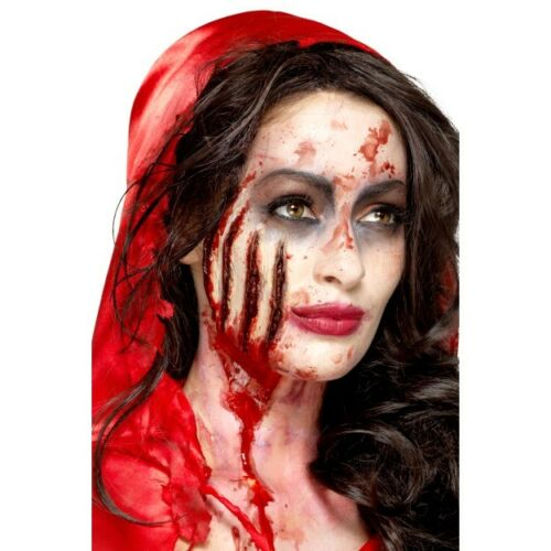 Latex Claw Wound Prosthetic Special FX Halloween Fancy Dress Make Up