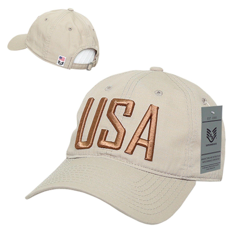 Coyote USA US United States Flag America Ripstop Mesh Trucker Baseball Hat Cap