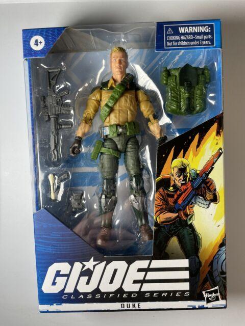 Hasbro G.I. Joe Classified Series Duke New Redeco Version Action Figure In Hand