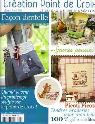 French cross stitch magazine Creation point de croix No.8 ...