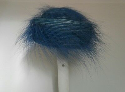 Dedito Vecchio Cappello Pervinca Di Piume Old Feather Periwinkle Hat