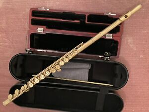 Wm. S. Haynes gold-plated solid silver flute just overhauled, commercial model
