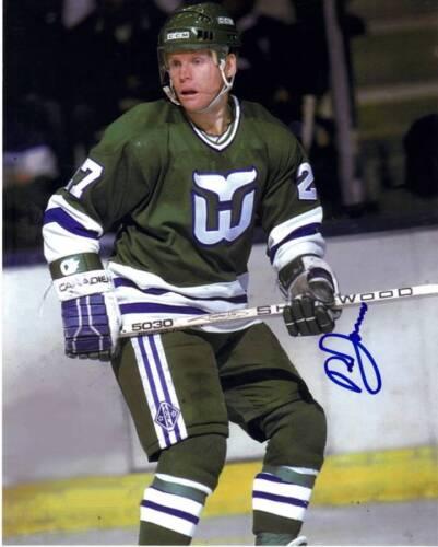 Doug Jarvis Hartford Whilers Signed 8x10 Photo w/COA