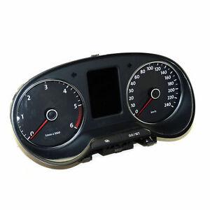 VW POLO 6r TDI Strumento Combinato 6r0920861k STATION WAGON dispositivo TACHIMETRO DIESEL