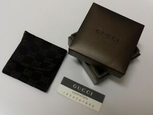 7c547a11cf Details about Gucci Monogram - Brown Coin Purse/Jewellery Pouch - Ladies  Gift - Boxed/New