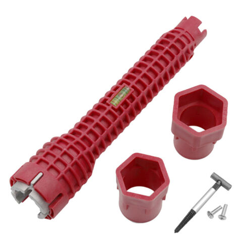 Stahl Mehrzweckschlüssel Für Wasserhahn Und Spüle Mit Steckschlüssel