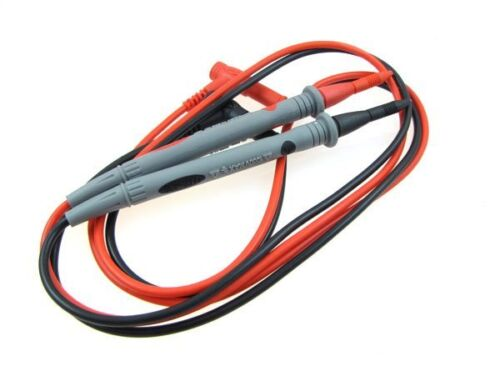 Multimeter test probe with fine pin