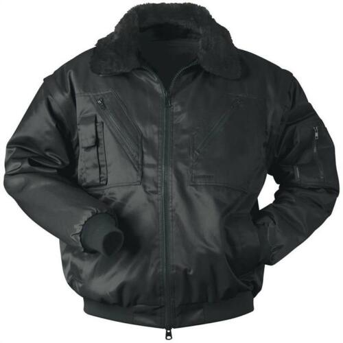 4 in 1 Pilot Jacket Water resistant ✔ Rugged Zip ✔ 2 Colours ✔