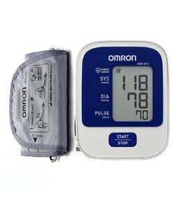 Omron Blood Pressure Monitor HEM 8712 New