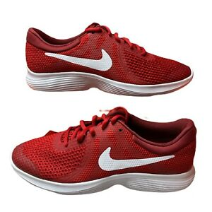 Nike Revolution 4 GS Running Shoes Red