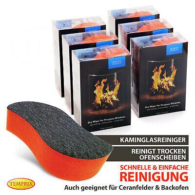 Kaminglas Reiniger Trockenreiniger Atmosfire von Schott Kamin Kaminscheiben 2 St