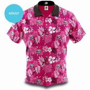 Sydney-Sixers-Big-Bash-BBL-Cricket-2020-Adult-Hawaiian-Shirt-Polo-Sizes-S-5XL