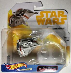 Hot-Wheels-Starships-Star-Wars-Rebel-Snowspeeder-Vehicle-Battle-Of-Hoth-Mattel