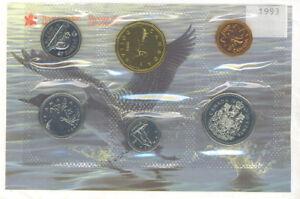 Canada-1993-Proof-Like-Coin-Set-PL-Envelope-No-COA