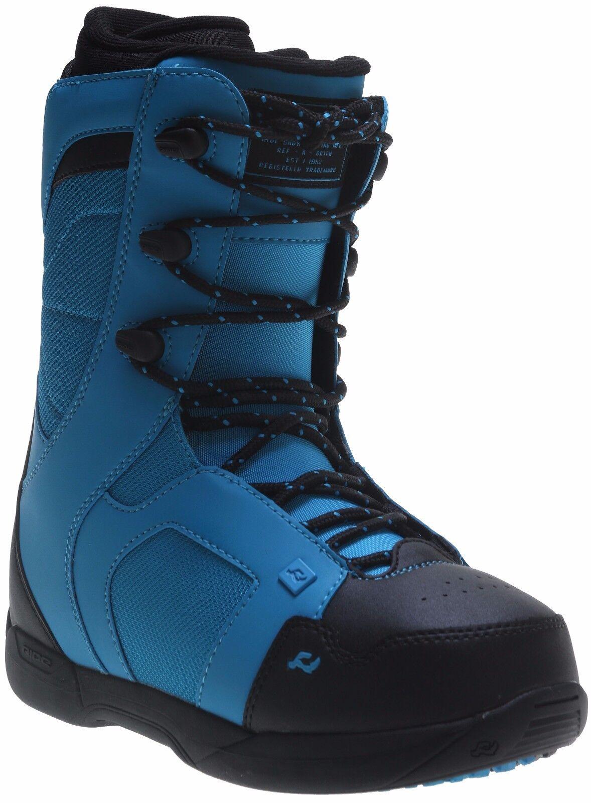 2016 NIB MENS RIDE ORION  SNOWBOARD BOOTS  210 9 bluee intuition foam liner  designer online