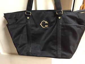 Details About C Wonder Black Tote Diaper Bag Barely Used